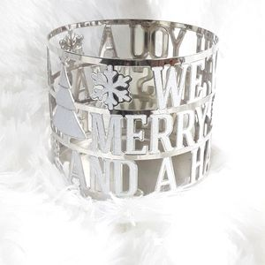 Bath and Body Works metal candle sleeve